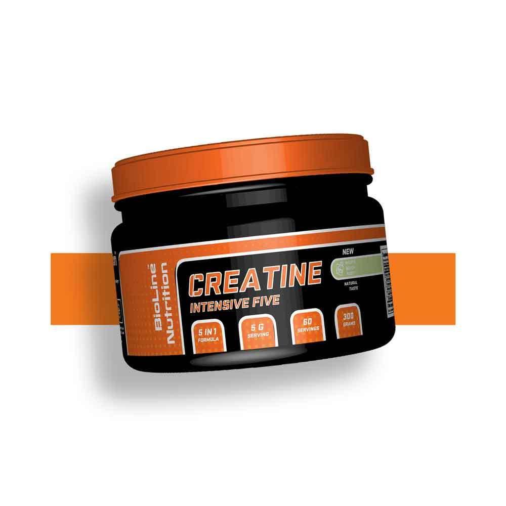 Креатин натуральный для набора массы BioLine Nutrition Германия | 300 г | 60 порций