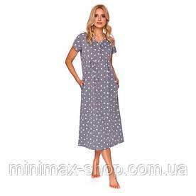 Домашнее платье Doctor Nap TM 4119 Grey Польша 2020-21