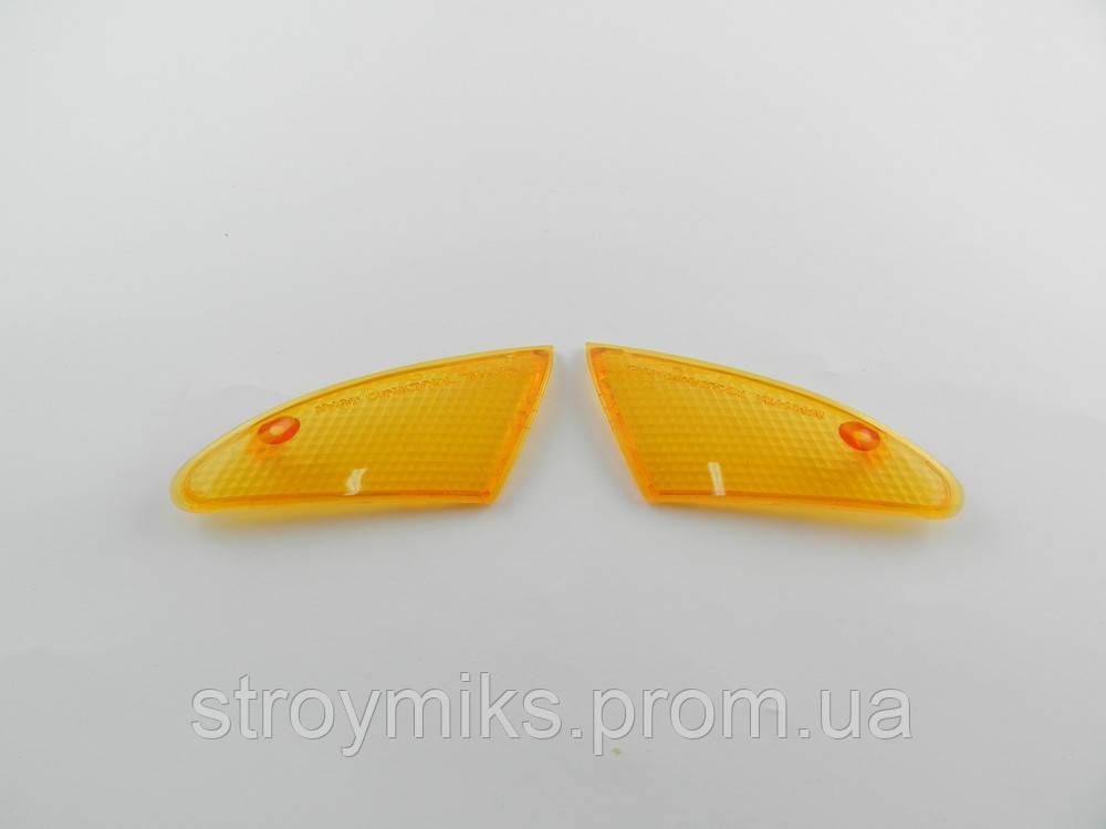 Стекло передних поворотов Suzuki Lets-2
