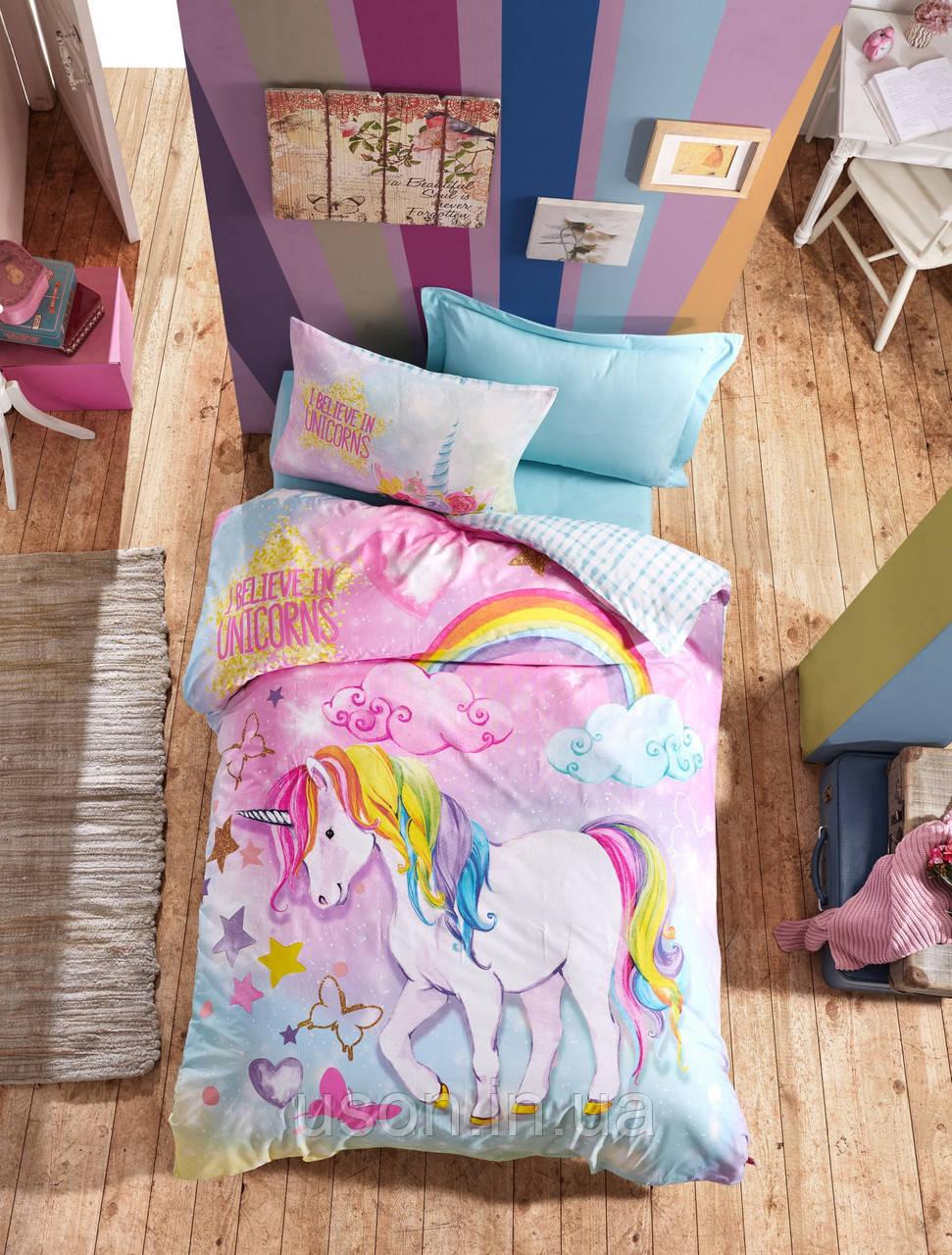 Комплект постельного белья подросток Тм Cotton box Dreams
