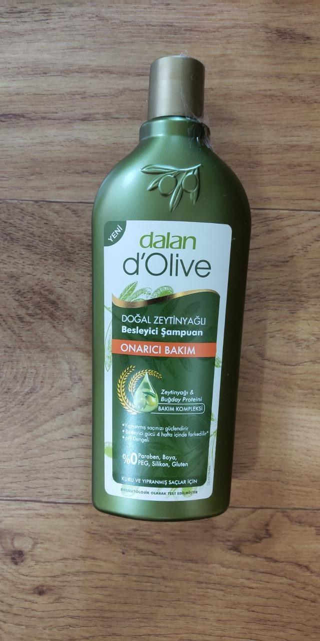 Dalan d'Olive Шампунь для всех типов волос восстанавливающий с оливковым маслом, 400мл