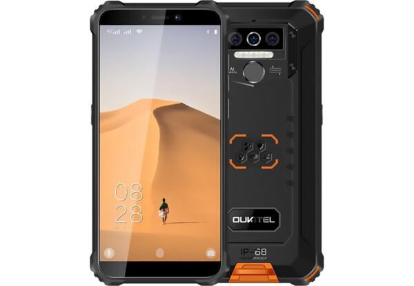 Смартфон Oukitel WP5 4/32Gb Black/Orange IP68