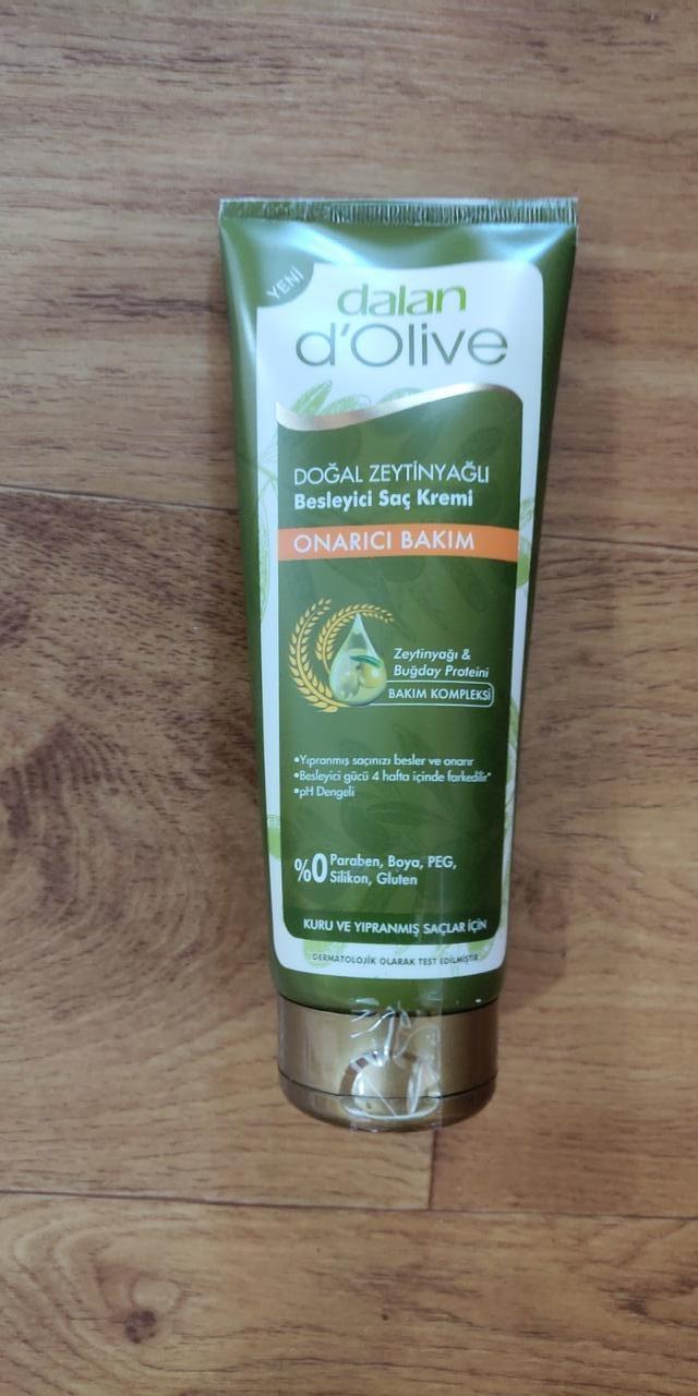Dalan d'Olive Кондиционер для для всех типов волос восстанавливающий  с оливковым маслом, 200мл