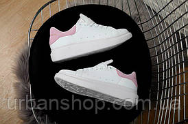Взуття Alexander McQueen White/Rose 37