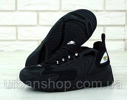 Чоловічі кросівки Nike Zoom 2K Black . ТОП Репліка ААА класу.