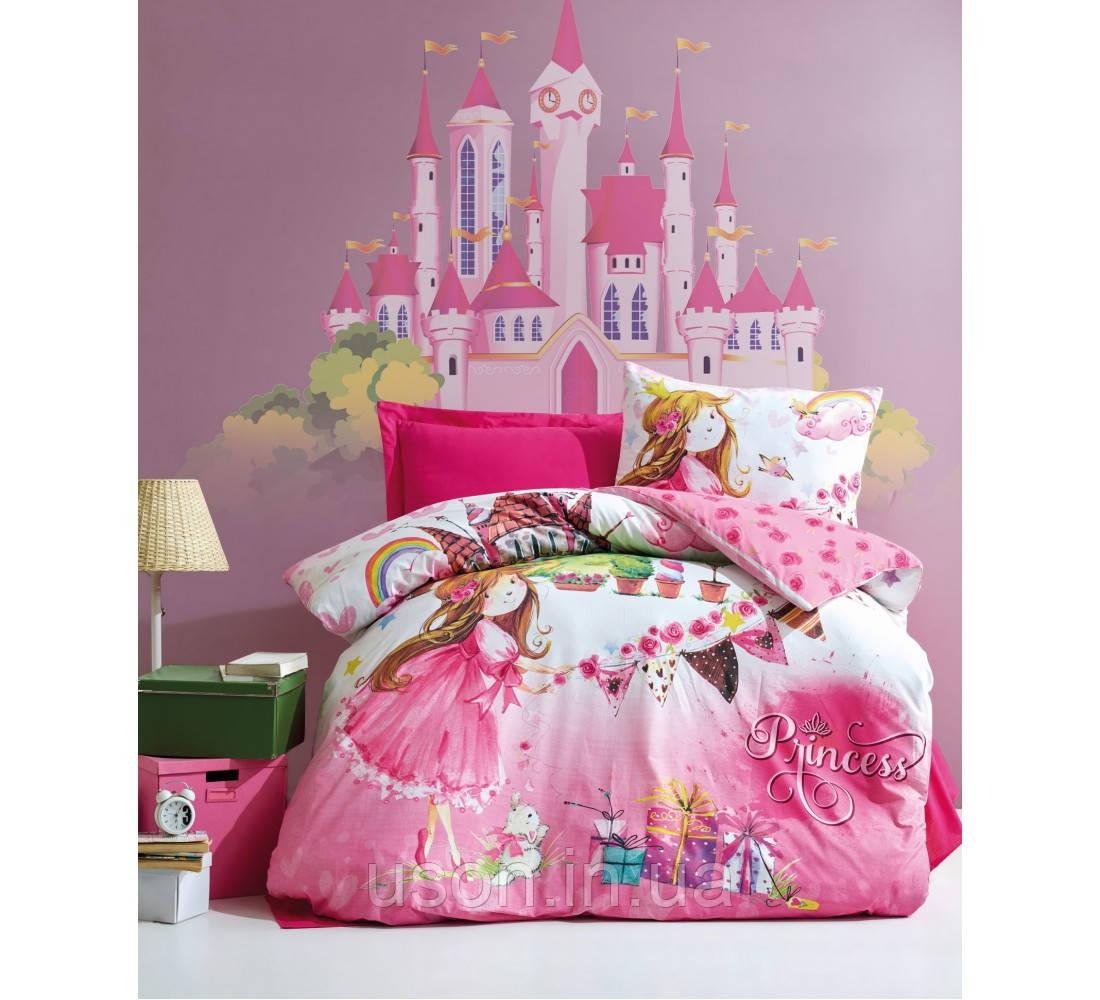 Комплект постельного белья подросток Тм Cotton box Princess