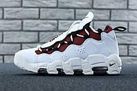 Чоловічі кросівки Nike Air More Money White Білий. ТОП Репліка ААА класу.