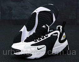 Чоловічі кросівки Nike Zoom 2K Black/White. ТОП Репліка ААА класу.