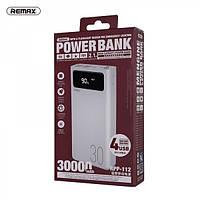 Повербанк Remax Power Bank 30000mAh|4USB/Type-C/Lightning, 2.1A для iPhone, Android, Xiaomi, Samsung, Huawei
