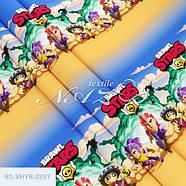 """Полуторний комплект (Ранфорс)   Постільна білизна від виробника """"Королева Ночі""""   Бравл Старс, Brawl Stars, фото 2"""