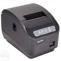 Чековыйпринтер с автоматическим обрезчиком чеков Xprinter XP-Q200-II ( 80мм)