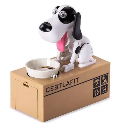 Собака-копилка My Dog Piggy Bank БЕЛАЯ