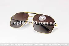 Широкі великі сонцезахисні окуляри ДЛЯ ЗОРУ в стилі Porsche Design. РМЦ 66-72, фото 3
