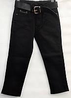 Утепленные брюки для мальчика 2-15 лет JNS ORGINAL черные