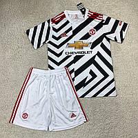 Футбольная форма Манчестер Юнайтед 20/21 резервная полосатая
