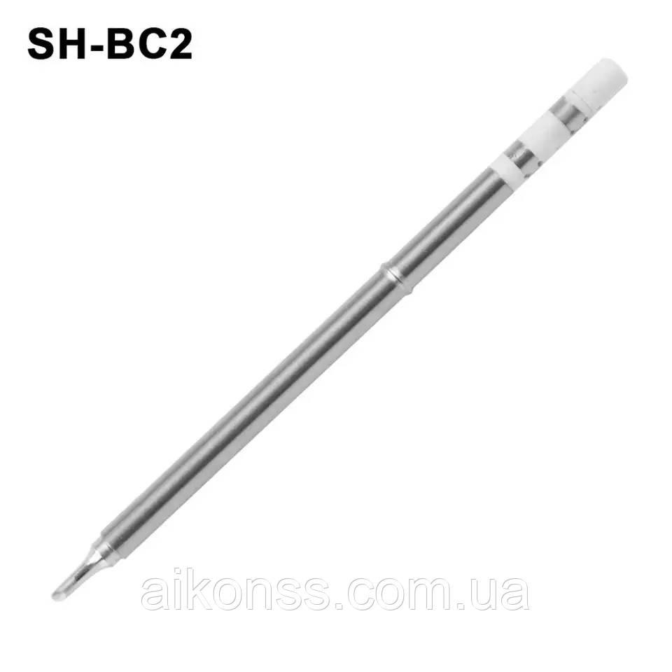 Жало SH-BC2 для паяльника SH72 SanErYiGo . Фабричное . Не оригинал .