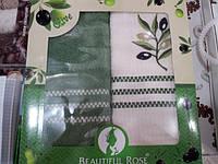 "Набор кухонных полотенец махра+вафля ТМ ""Beautiful Rose"""