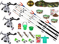 Набор для рыбалки, подарок мужу рыбаку. Набор для ловли карпа, карася, плотвы!