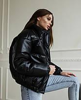 Женская куртка LUNALY Хлоя черного цвета, фото 2