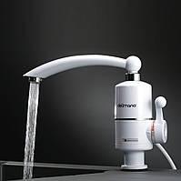 Проточный электрический водонагреватель Кран с подогревом воды для кухни ванной Кран-водонагреватель