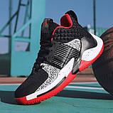 Кросівки чорно-білі Код 15-0014, фото 5