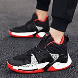 Кросівки чорно-білі Код 15-0014, фото 6