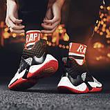Кросівки чорно-білі Код 15-0014, фото 7