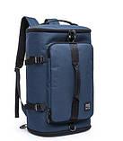 Туристична сумка - рюкзак Kaka для подорожей синій Код 15-0091, фото 3
