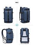 Туристична сумка - рюкзак Kaka для подорожей синій Код 15-0091, фото 5