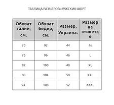 Мужские шорты камуфляж Z.Five 8991 желтые 44 46 48 50 52 размер, фото 3