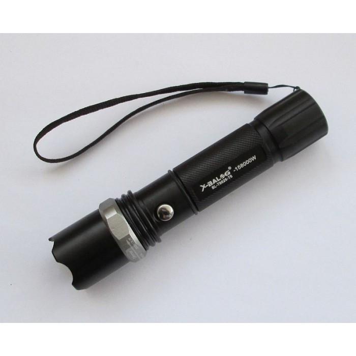 Тактичний ліхтар POLICE BL 8626 T6, Чорний