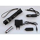 Тактичний ліхтар POLICE BL 8626 T6, Чорний, фото 2