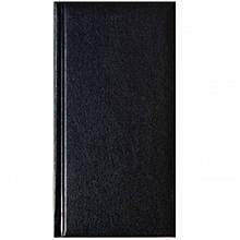 Алфавітна книга Бріск ЗВ-38 чорний 95х185мм 224ар Miradur