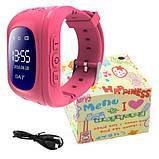 Смарт часы детские умные с GPS Q50 Pink, фото 4