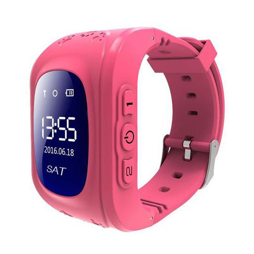 Смарт часы детские умные с GPS Q50 Pink