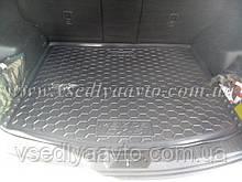 Коврик в багажник MAZDA CX5 с 2011-2017 гг. увеличенный (AVTO-GUMM) пластик+резина