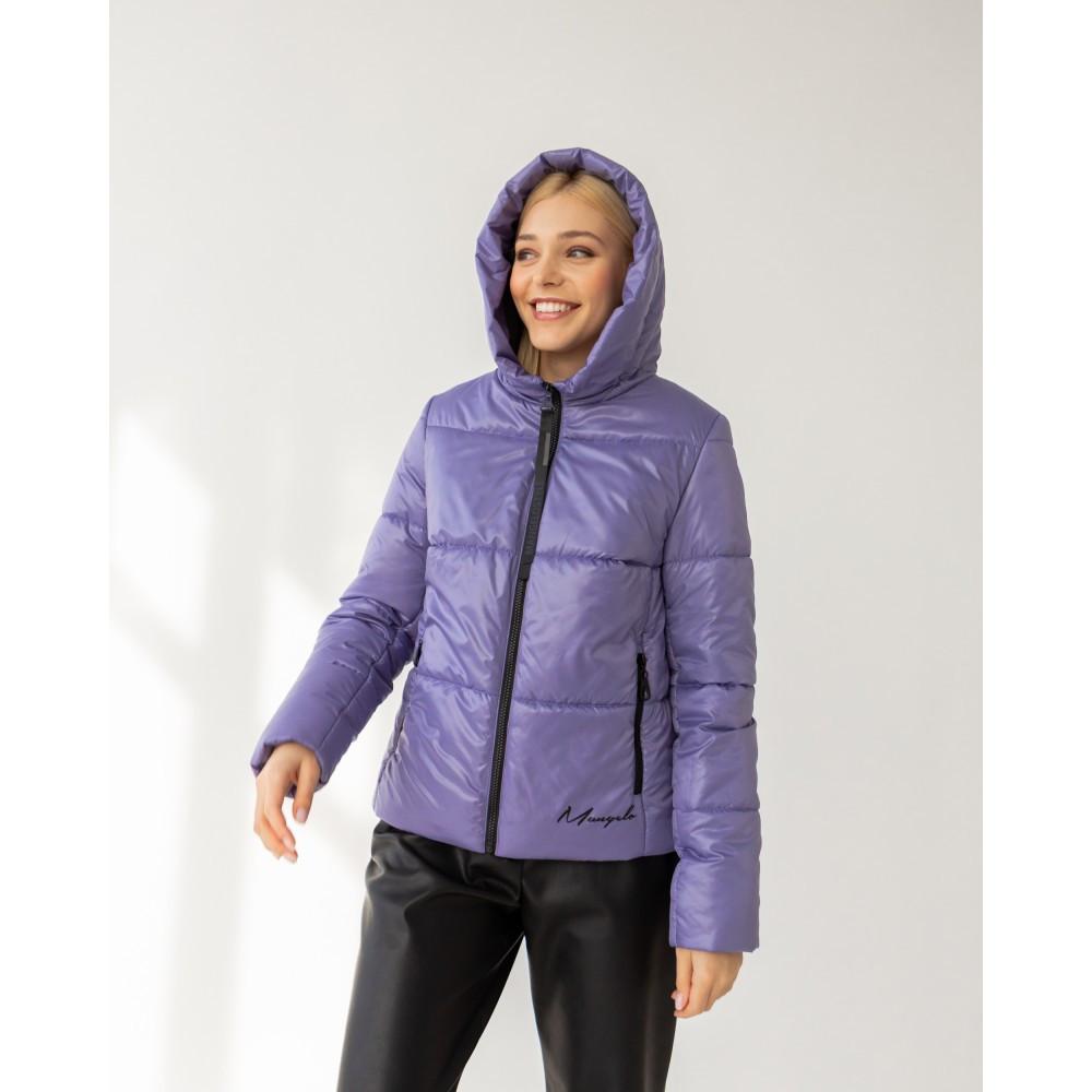 Легкая брендовая демисезонная куртка Лакки лаванда