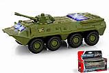 Игрушечный танк металлический 6409D, фото 3