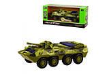 Игрушечный танк металлический 6409D, фото 4