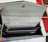 Женские кожаные лаковые кошельки Cossroll на кнопке (2 цвета), фото 2