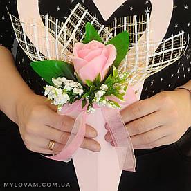 Мыльный букет, мыльные цветы, мыльная роза