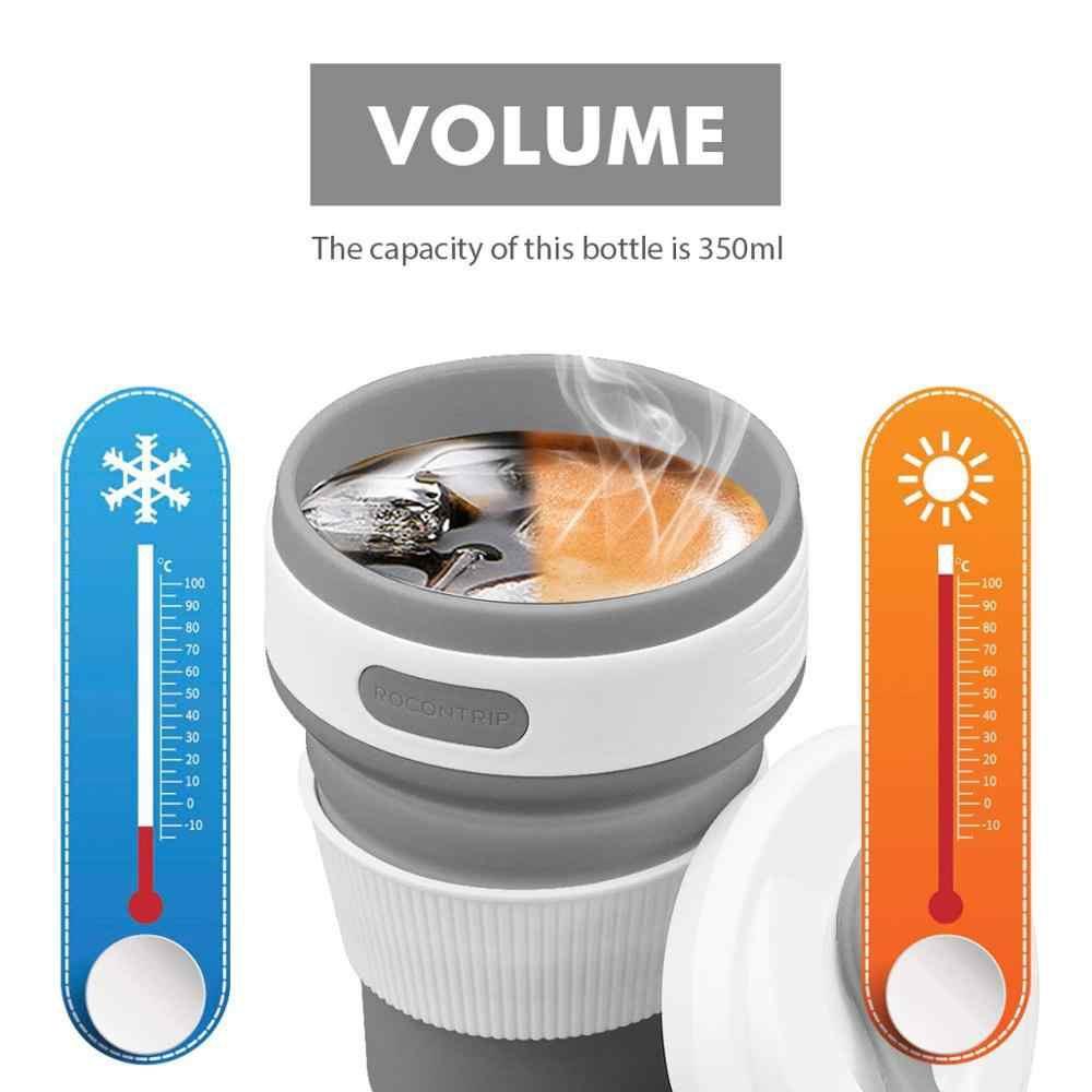 Складная силиконовая чашка Collapsible