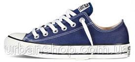 Чоловічі кеди, trampki męskie Converse All Star Low blue, конверс, конвера, cons, конверси.