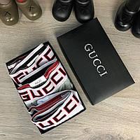 Нижнее Белье Gucci Pack 3 Black-Grey-White