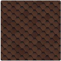 Битумная черепица Shinglas Ультра Самба 1000*317 мм коричневый Смела