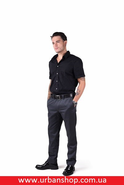 Штани Four Elements, Chinos - Graphite Grey