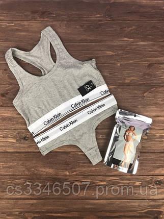 Нижню білизну Calvin Klein. Жіночий комплект Кельвін Кляйн, фото 2