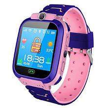 Смарт часы детские умные с GPS TD07S + камера pink