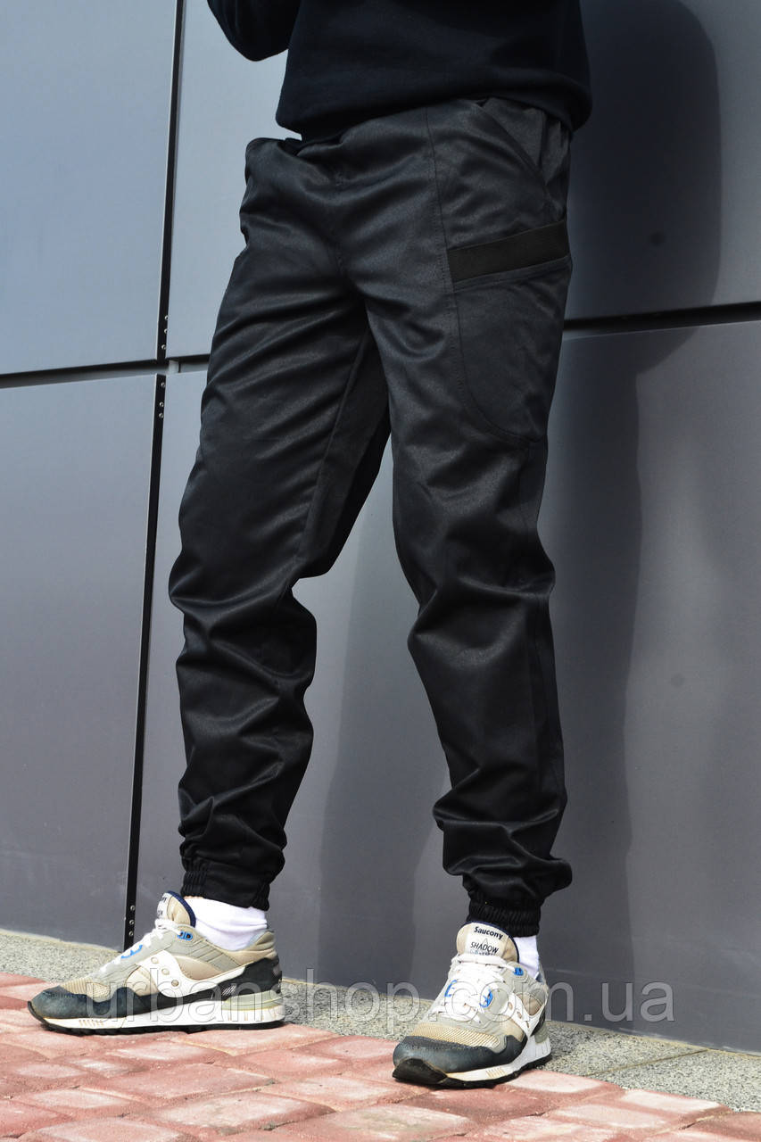 Чоловічі карго Штани чорні ТУР модель Spartacus L