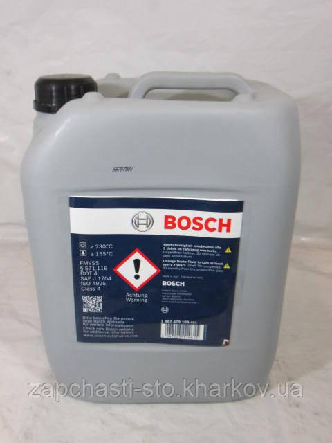 Тормозная жидкость Bosch DOT4, 5л
